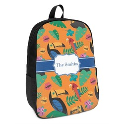 Toucans Kids Backpack (Personalized)