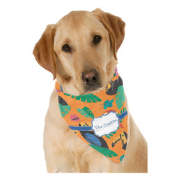 Toucans Dog Bandana Scarf w/ Name or Text