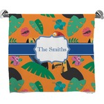 Toucans Full Print Bath Towel (Personalized)