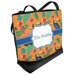 Toucans Beach Tote Bag (Personalized)