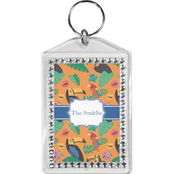Toucans Bling Keychain (Personalized)
