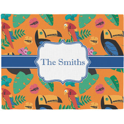 Toucans Placemat (Fabric) (Personalized)