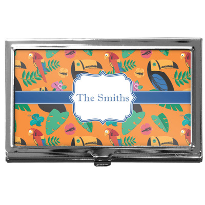 Toucans Business Card Case