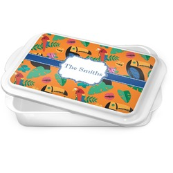 Toucans Cake Pan (Personalized)