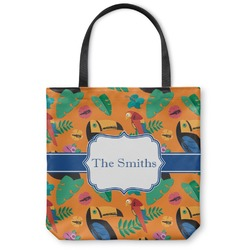 Toucans Canvas Tote Bag (Personalized)