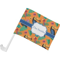 Toucans Car Flag (Personalized)