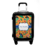 Toucans Carry On Hard Shell Suitcase (Personalized)