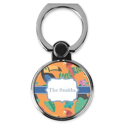 Toucans Cell Phone Ring Stand & Holder (Personalized)