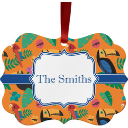 Toucans Ornament (Personalized)