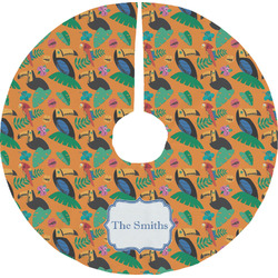 Toucans Tree Skirt (Personalized)