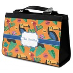 Toucans Classic Tote Purse w/ Leather Trim (Personalized)