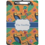 Toucans Clipboard (Personalized)