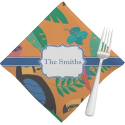 Toucans Napkins (Set of 4) (Personalized)