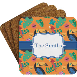 Toucans Coaster Set (Personalized)