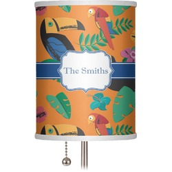 "Toucans 7"" Drum Lamp Shade (Personalized)"