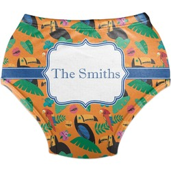 Toucans Diaper Cover (Personalized)