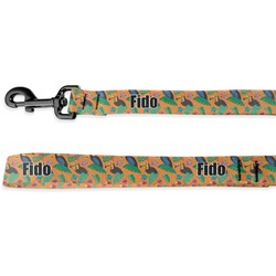 Toucans Deluxe Dog Leash (Personalized)
