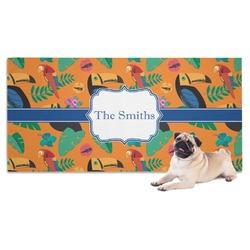 Toucans Pet Towel (Personalized)