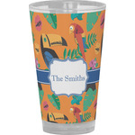 Toucans Drinking / Pint Glass (Personalized)