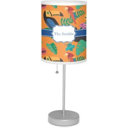 """Toucans 7"""" Drum Lamp with Shade (Personalized)"""