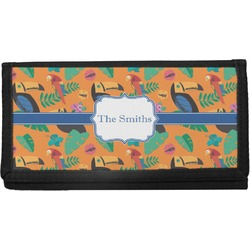 Toucans Canvas Checkbook Cover (Personalized)