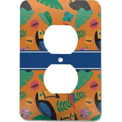 Toucans Electric Outlet Plate (Personalized)