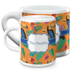 Toucans Espresso Cups (Personalized)