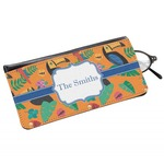 Toucans Genuine Leather Eyeglass Case (Personalized)