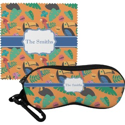 Toucans Eyeglass Case & Cloth (Personalized)
