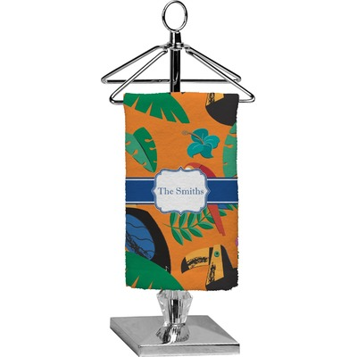 Toucans Finger Tip Towel - Full Print (Personalized)