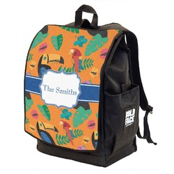 Toucans Backpack w/ Front Flap  (Personalized)