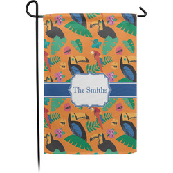 Toucans Garden Flag - Single or Double Sided (Personalized)