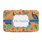 Toucans Genuine Leather Small Framed Wallet (Personalized)