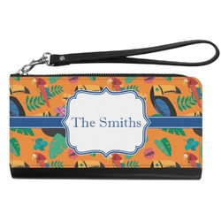 Toucans Genuine Leather Smartphone Wrist Wallet (Personalized)