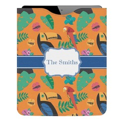 Toucans Genuine Leather iPad Sleeve (Personalized)