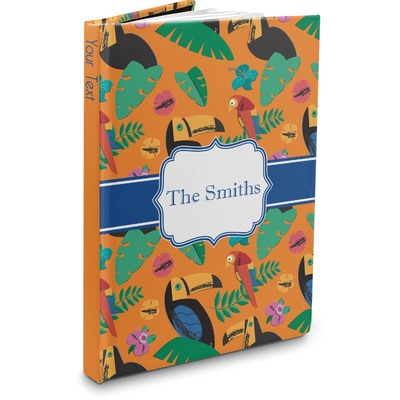 Toucans Hardbound Journal (Personalized)