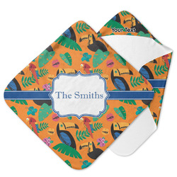 Toucans Hooded Baby Towel (Personalized)