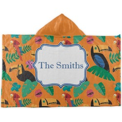 Toucans Kids Hooded Towel (Personalized)