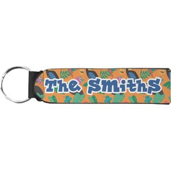 Toucans Neoprene Keychain Fob (Personalized)