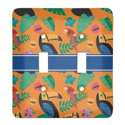 Toucans Light Switch Cover (2 Toggle Plate) (Personalized)