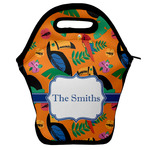 Toucans Lunch Bag w/ Name or Text