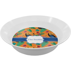 Toucans Melamine Bowls (Personalized)