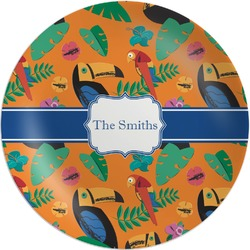 Toucans Melamine Plate (Personalized)
