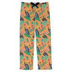 Toucans Mens Pajama Pants (Personalized)