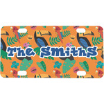 Toucans Mini / Bicycle License Plate (Personalized)