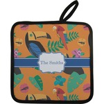 Toucans Pot Holder w/ Name or Text
