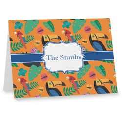 Toucans Notecards (Personalized)