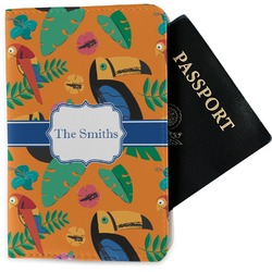 Toucans Passport Holder - Fabric (Personalized)