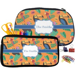 Toucans Pencil / School Supplies Bag (Personalized)