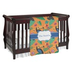 Toucans Baby Blanket (Personalized)
